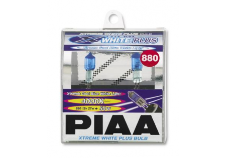 PIAA 880 Extreme White Plus Bulbs Twin Pack