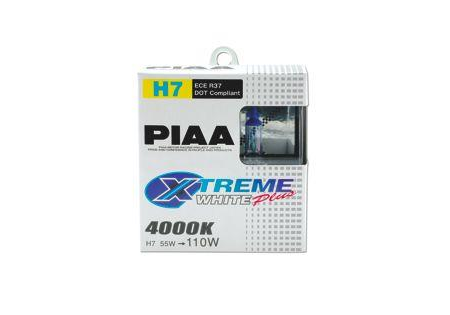 PIAA H7 Extreme White Plus Bulbs Twin Pack