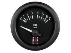 STACK 52mm Electric Oil Pressure Gauge - 0-7 bar