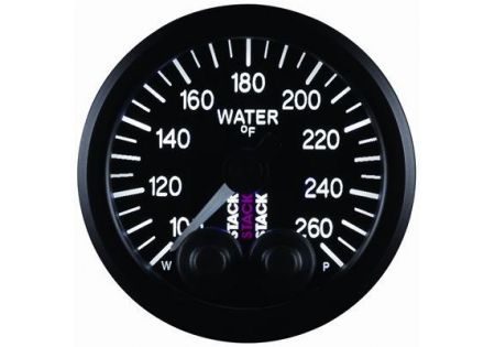 STACK 52mm Pro-Control Water Temperature Gauge - 100-260F