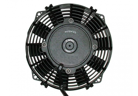 SPAL 10'' Straight Blade Low Profile Fan 12V Pusher