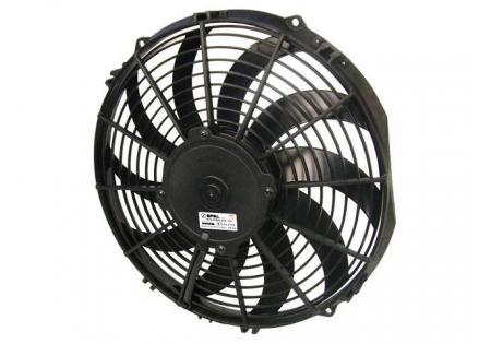 SPAL 12'' Curved Blade Medium Profile Fan 12V Puller