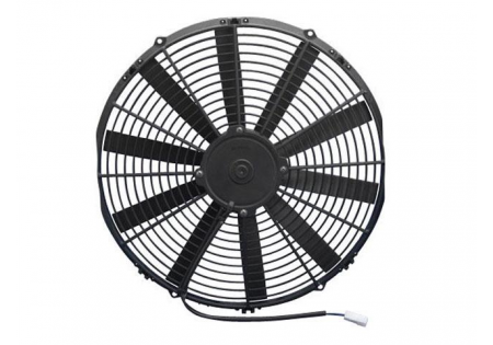 SPAL 16'' Straight Blade Low Profile Fan 12V Puller